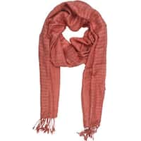 Handmade In Sattva Colors - Checkered print Scarf Stole (India)