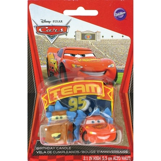 Cars Piston Cup Birthday Candle