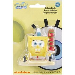 Spongebob Birthday Candle