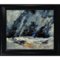 Pol Ledent 'Abstract 88114080' Framed Fine Art Print
