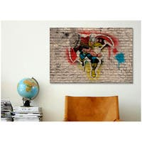 iCanvas Marvel Comic Book: Thor Graffiti Canvas Print Wall Art