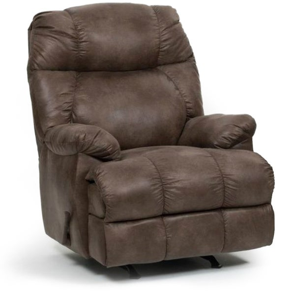 Flash Furniture AM 9460 5860 GG Contemporary Columbia  Microfiber Rocker Recliner Mushroom