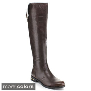 Miim Yara-01 Women's Faux Leather Knee High Riding Boots