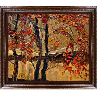Justyna Kopania 'Autumn (tree)' Framed Fine Art Print
