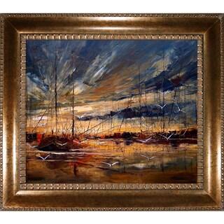 Justyna Kopania 'Harbour' Framed Fine Art Print
