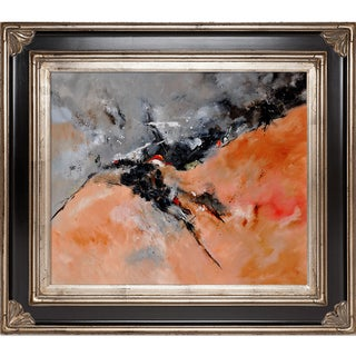 Pol Ledent 'Abstract 1811503' Framed Fine Art Print