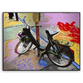 Gallery Direct Bryant Falk's 'Street Bike' Metal Art