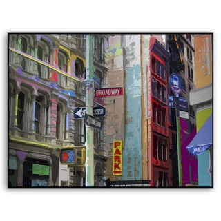 Gallery Direct Bryant Falk's 'Broadway' Metal Art