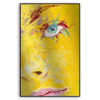 Gallery Direct Fatmir Gjevukaj's 'Eyes I' Metal Art
