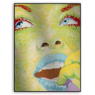 Gallery Direct Fatmir Gjevukaj's 'Eyes II' Metal Art