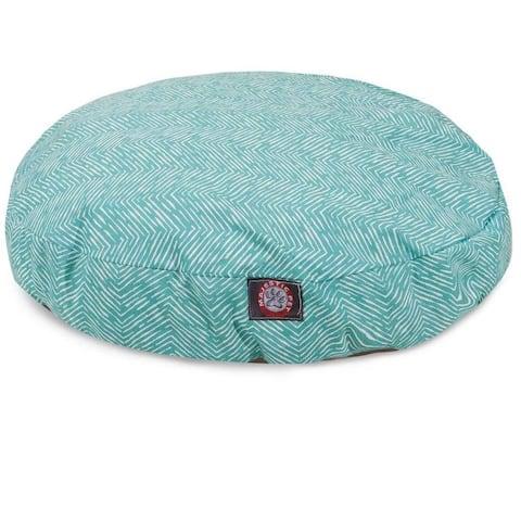 Majestic Pet Feather Indoor/Outdoor Round Pet Bed
