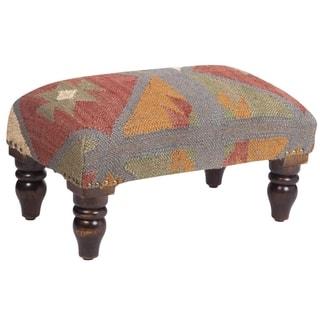 Herat Oriental Handmade Indo Kilim Upholstered Footstool https://ak1.ostkcdn.com/images/products/9490902/P16671599.jpg?impolicy=medium