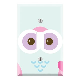 Cute Owl Decorative Wall Plate Cover