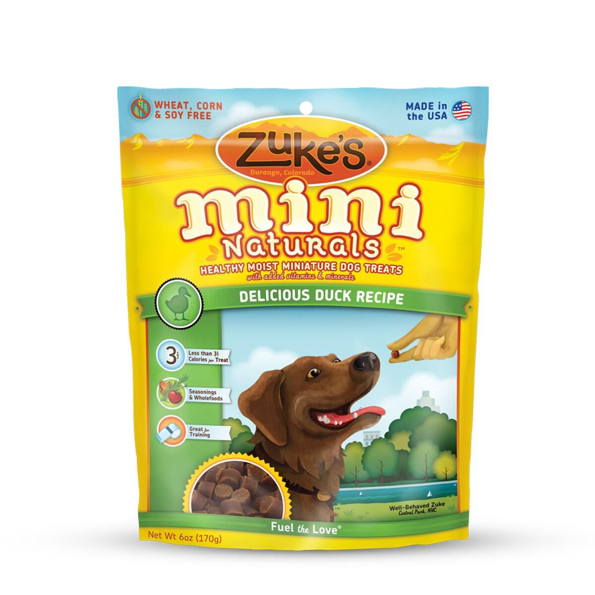 Zuke's Mini Naturals Duck Dog Treats (16oz), Grey