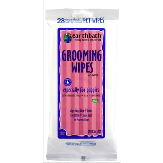 Earth Bath 28-count Puppy Grooming Wipes