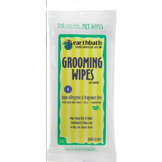 Earth Bath Hypo-allergenic 28-count Pet Grooming Wipes