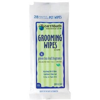 Earthbath Green Tea 28-count Pet Grooming Wipes