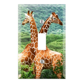 Giraffe Decorative Wall Plate Cover