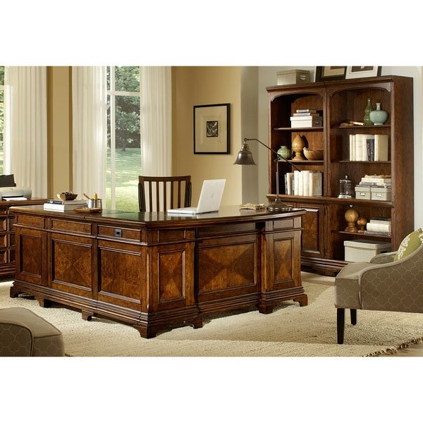 ethan reversible desk with return 2 piece bookcase wall and office chair cbe heated cooled chair