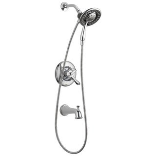 Delta Linden Monitor 17 Series Tub & Shower Trim with In2ition T17494-I Chrome