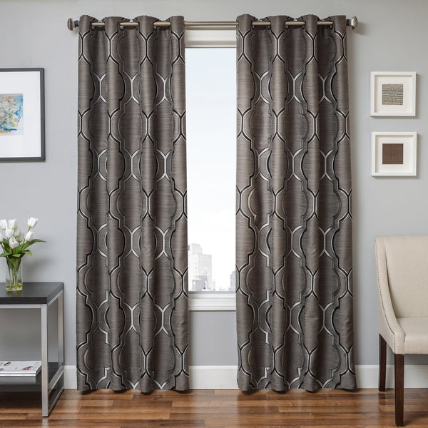 Shop Softline Trenton Grommet Top Curtain Panel On Sale