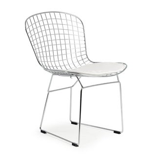 Poly and Bark Morph Wire Dining Chair