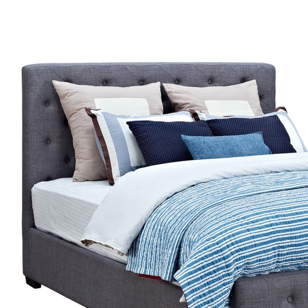 Avenue Greene Ferrara Upholstered Bed   Free Shipping Today   Overstock com    16672258. Avenue Greene Ferrara Upholstered Bed   Free Shipping Today