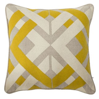 Kosas Home Crossroad 18-inch Feather and Down Filled Throw Pillows