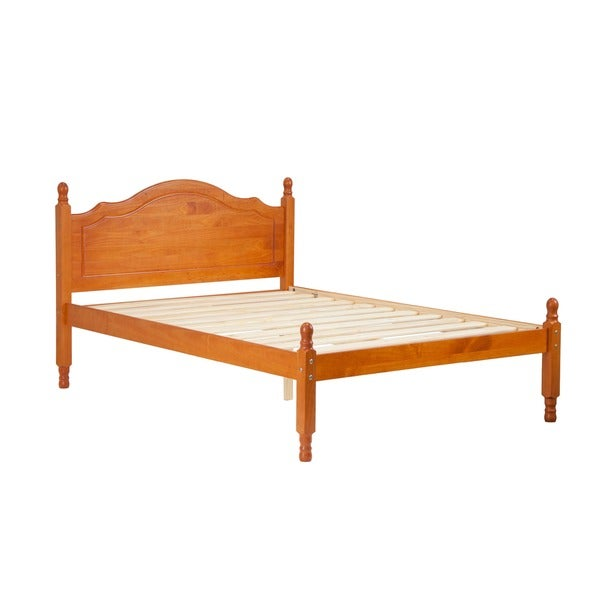 Reston Full Size Platform Bed Solid Wood Free Shipping