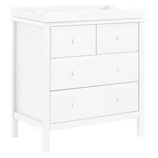 DaVinci Autumn Wood 4-drawer Changer Dresser