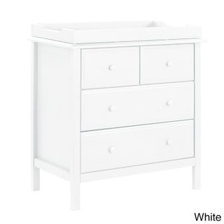 Davinci Autumn 4-drawer Changer Dresser (Option: White)