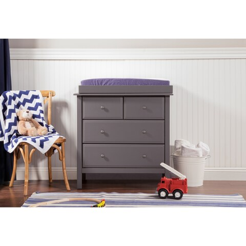 DaVinci Autumn Wood 4-drawer Changer Dresser