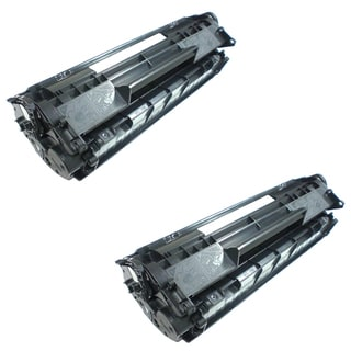 Remanufactured Compatible Canon 126 Black High Yield Toner Cartridges (Pack of 2)