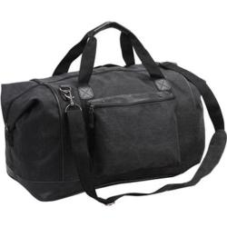 Goodhope P4659 Tahoe Canvas Duffel Black