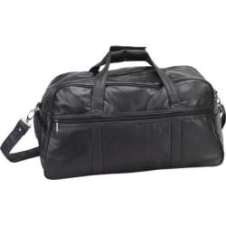 Goodhope P6205 Leather Duffel Black