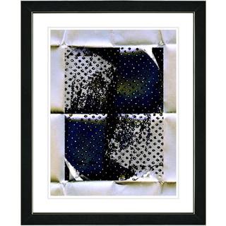 Studio Works Modern 'Folded Paper Series - VI' Framed Fine Art Print