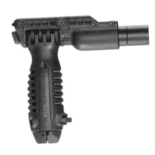 Mako Verical Foregrip With Incorporated Bipod and 1-inch Flashlight Adapter