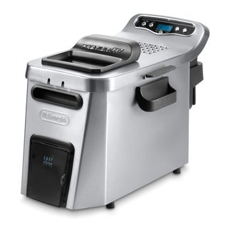 DeLonghi D34528DZ Stainless Steel Digital Dual-Zone Deep Fryer