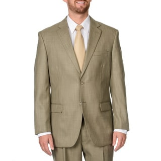 Caravelli Italy Men's Tan Double Vent Suit