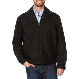 Cianni Cellini Men's 'Republic' Black Short Top Coat