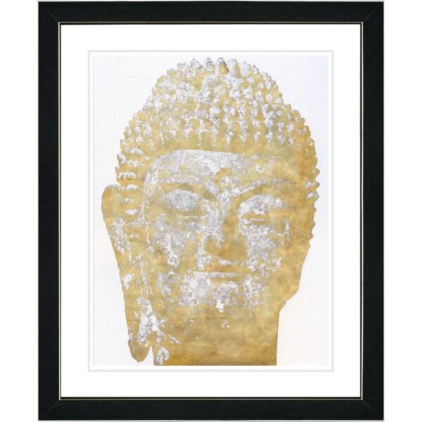 Shop Studio Works Modern \'White Buddha\' Framed Fine Art Print - Free ...