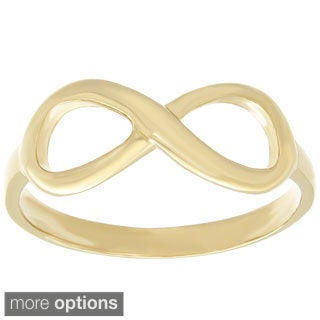 Sterling Essentials Silver Infinity Symbol Ring (More options available)