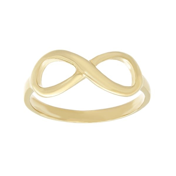 Sterling Essentials Silver Infinity Symbol Ring