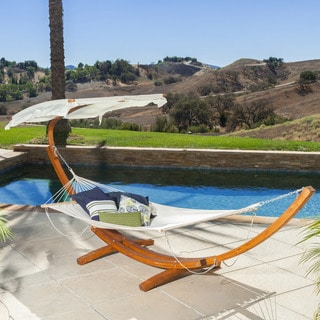 Grand Turk Outdoor Hammock by Christopher Knight Home