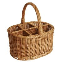 Wald Imports Large 14-inch Willow Wine Basket