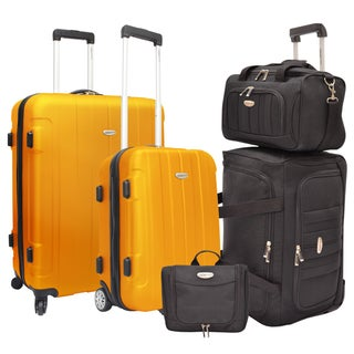 Traveler's Choice Rome 5-Piece Hardside and Softside Luggage Set (2 options available)