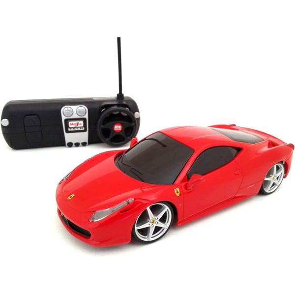 Maisto 1:24 Remote Control Ferrari 458 Italia