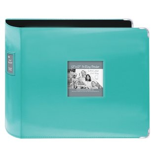 Pioneer Jumbo 3-ring Bright Blue Scrapbook Binder with Bonus Refill Pack (12x12)