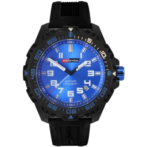 Isobrite Men's T100 Valor Series Blue Dial Watch by Armourlite