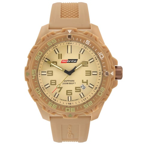 Isobrite Men's T100 Valor Series Tan Watch